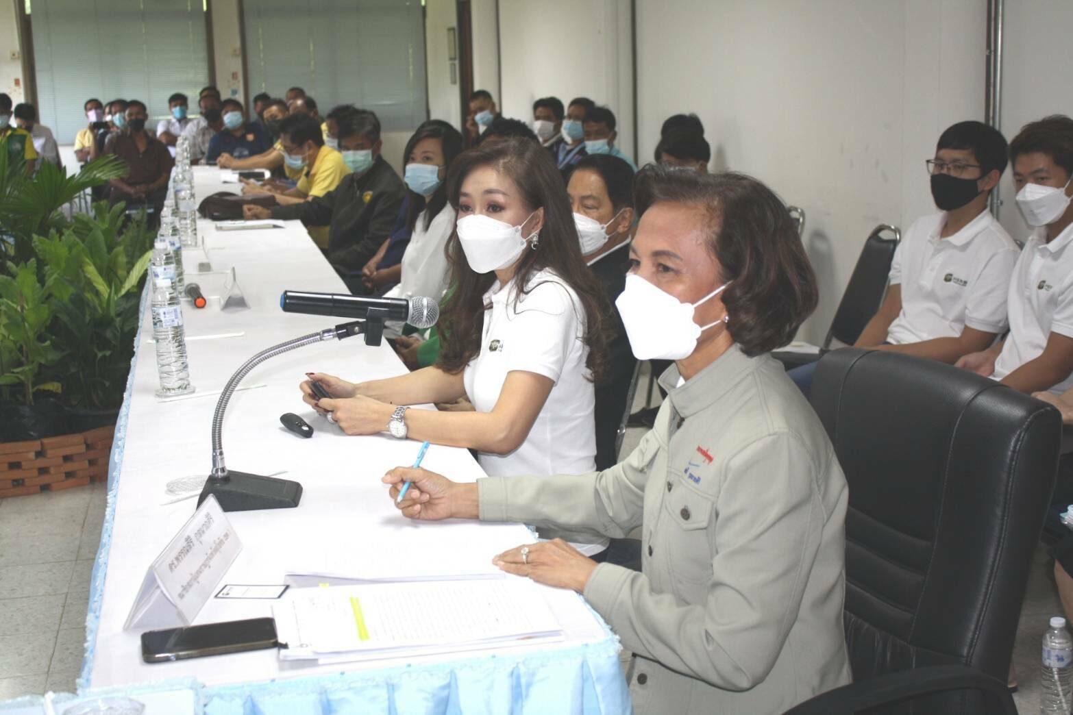 'ส.ส.สุโขทัย' ประชุมติดตามเงินชดเชยยาสูบ และขับเคลื่อนการปลูกพืชทดแทนกัญชง