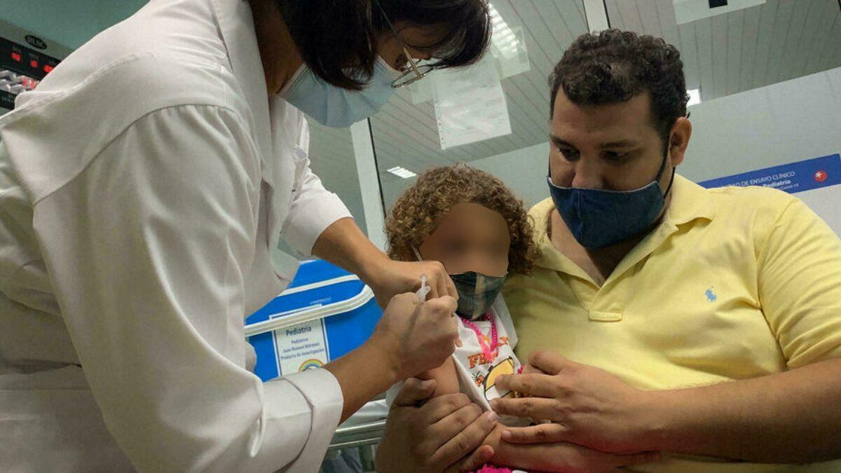 ที่แรกในโลก! 'คิวบา' เริ่มฉีดวัคซีนโควิด-19 ให้เด็ก 2-11 ขวบ เตรียมรับเปิดเทอม