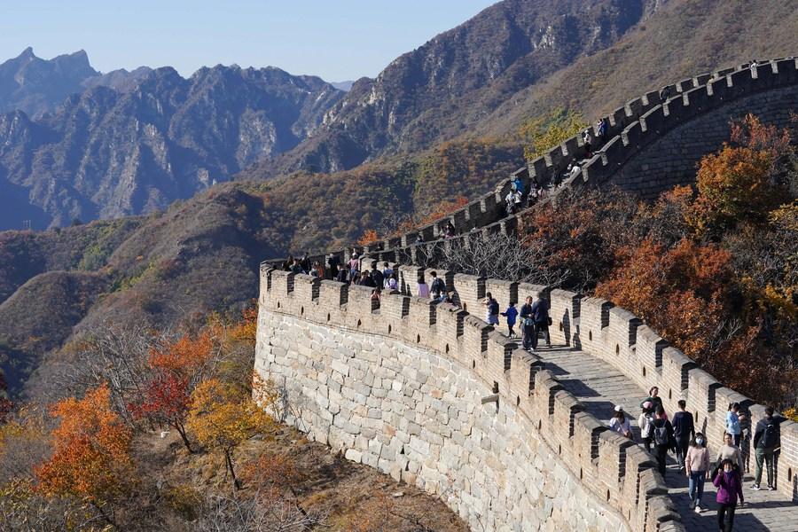 ปักกิ่งเปิด 10 เส้นทางท่องเที่ยว 'กำแพงเมืองจีน'