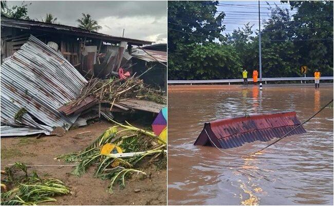 เพชรบูรณ์อ่วม! ฝนตกหนัก ลำน้ำสาขา ใน '2 ตำบล'หล่มเก่า ทะลักท่วมบ้านเรือนเสียหายยับ