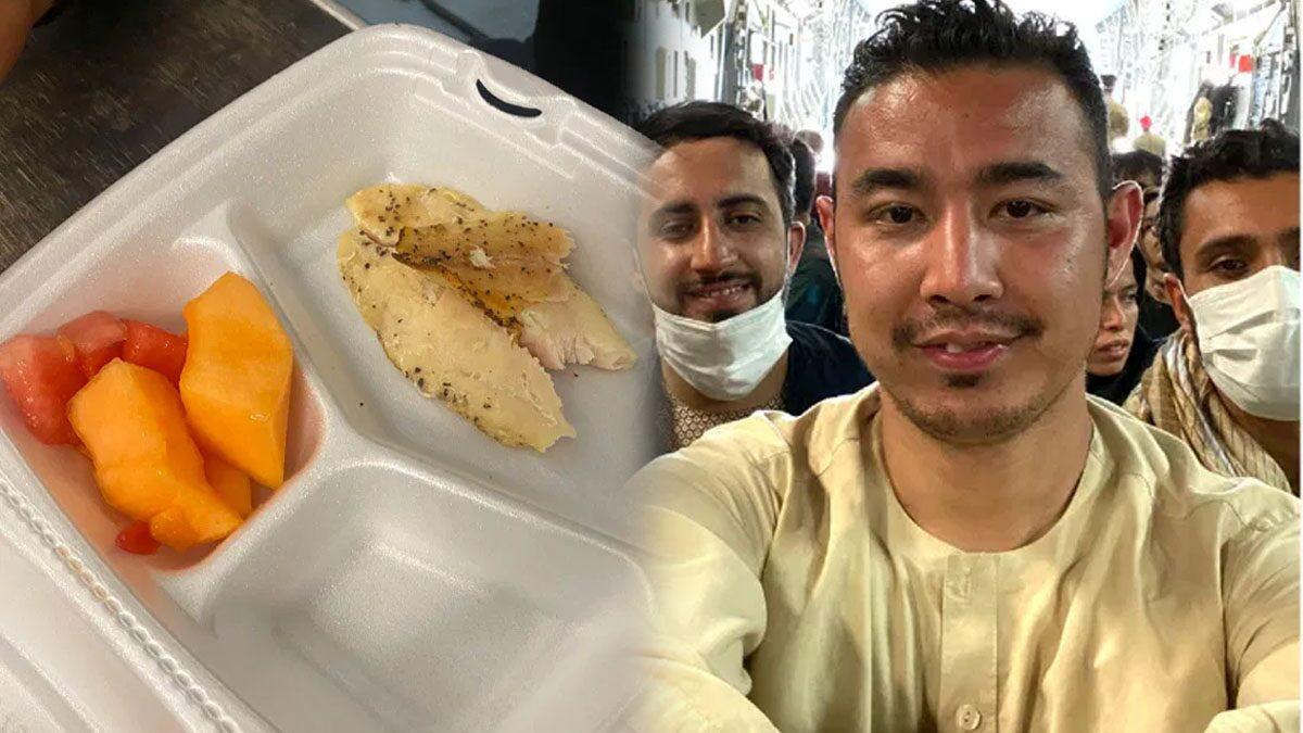 หนุ่มลี้ภัยอัฟกันโพสต์ตัดพ้อกองทัพสหรัฐฯ แจกอาหารไม่ได้คุณภาพ เจอชาวเน็ตสวน 'กลับประเทศเอ็งไปสิ'