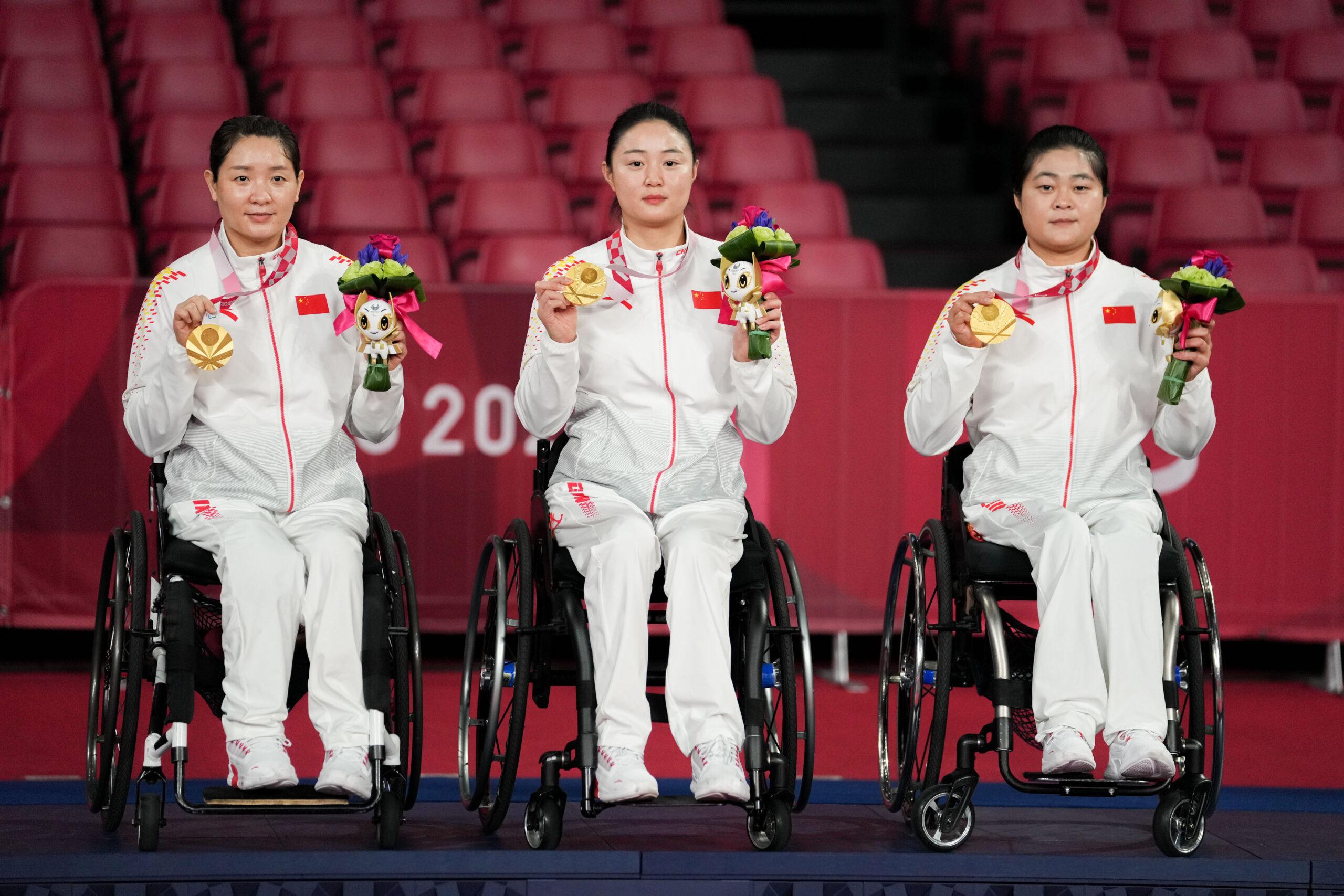 จีนยกย่อง 'นักกีฬาหญิง' ศึกพาราลิมปิก 'บุคคลต้นแบบ' ของชาติ