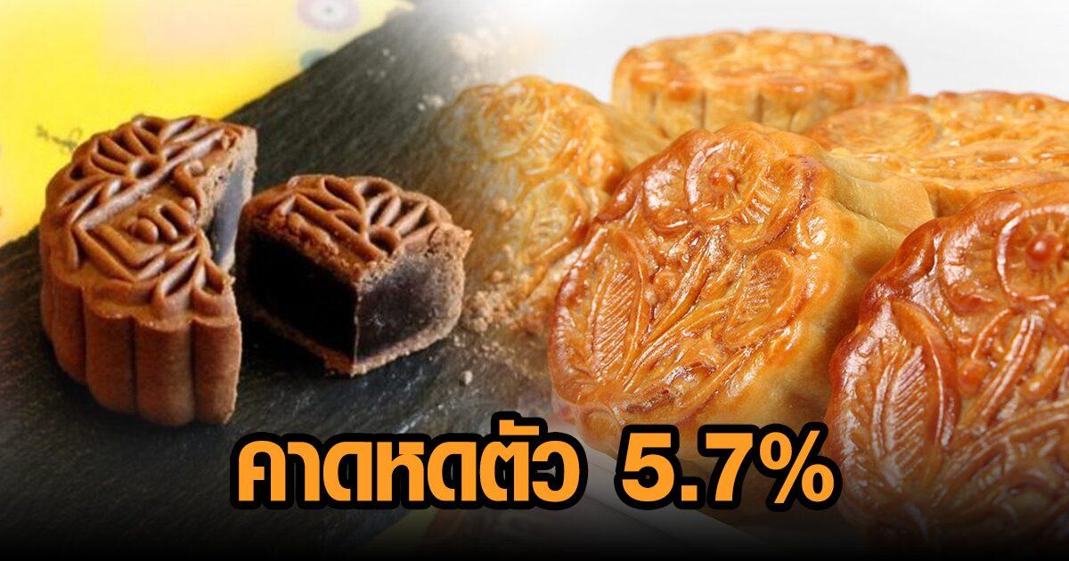 ศูนย์วิจัยกสิกรไทย คาดปีนี้ตลาดขนมไหว้พระจันทร์หดตัว 5.7%