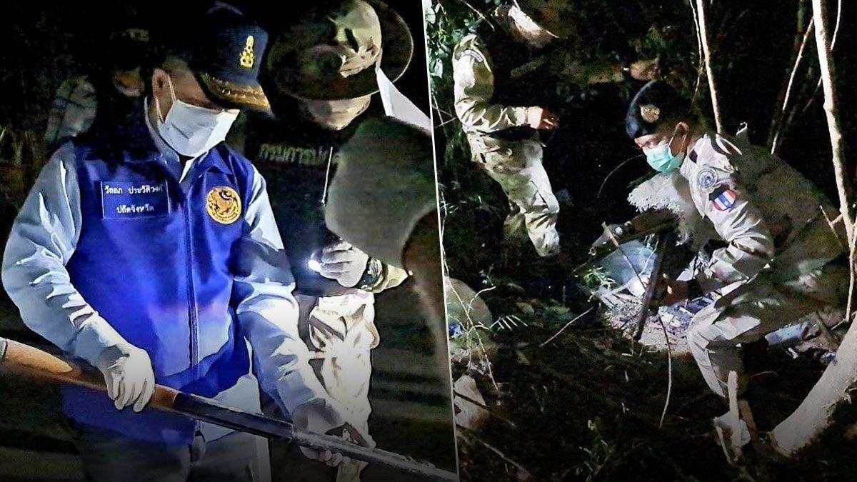 เจอเพิ่ม 16 กระบอก ปืนลูกซองอส.สระแก้ว โผล่ป่าข้างทาง เร่งขยายผล