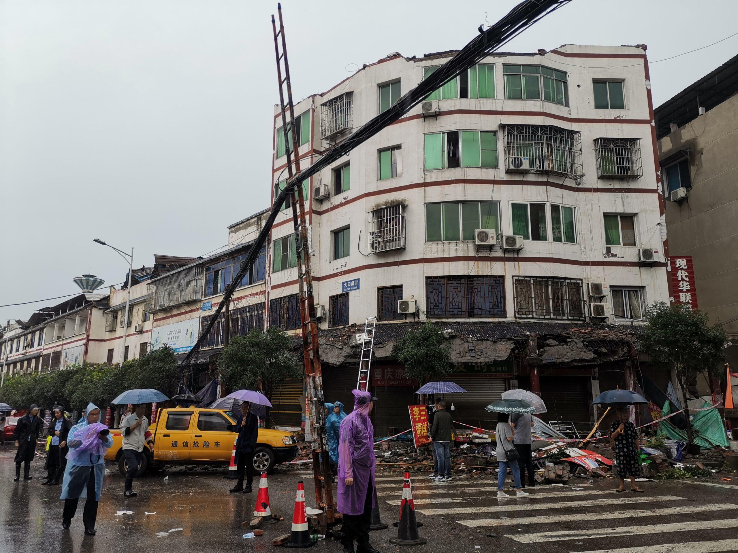 แผ่นดินไหวรุนแรง 6.0 เขย่า 'เสฉวน' ดับ 2 เจ็บ 3