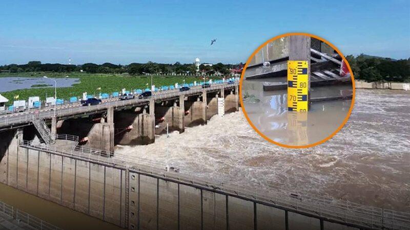 ด่วน! ชุมชนริมน้ำในอยุธยา ระดับน้ำจะเพิ่มสูงขึ้น 1 เมตร ใน 24 ชม.นี้