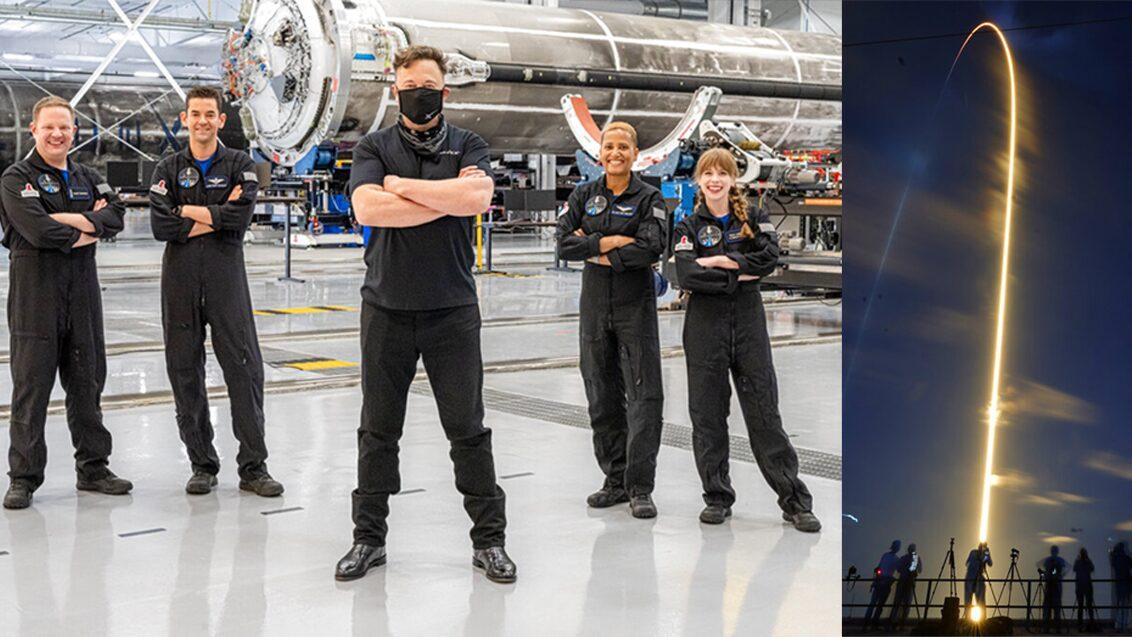 4มือสมัครเล่นตะลุยอวกาศ อีลอน มัสก์ส่งท่องเที่ยวเหนือโลก 3 วัน