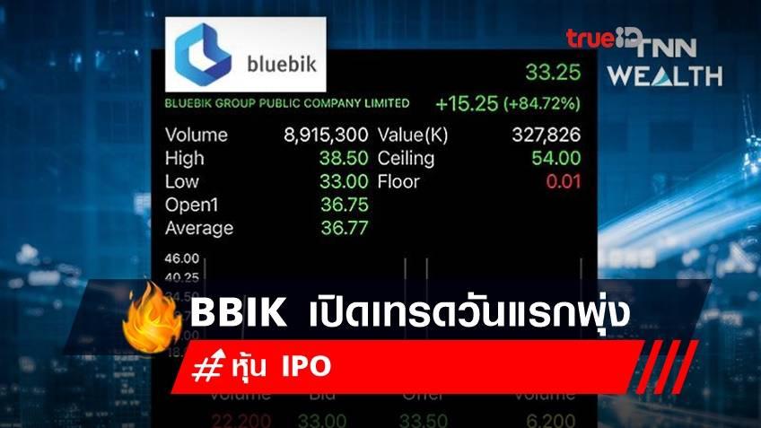 BBIK เปิดเทรดวันแรกพุ่งยืนเหนือจอง +84.72% ที่ 33.25 บาท จากราคา IPO 18 บาท