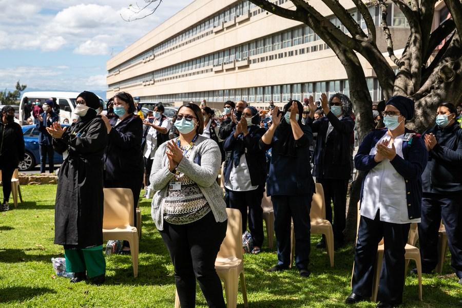 แอฟริกาใต้จัด 'คอนเสิร์ตขอบคุณ' บุคลากรการแพทย์แนวหน้า
