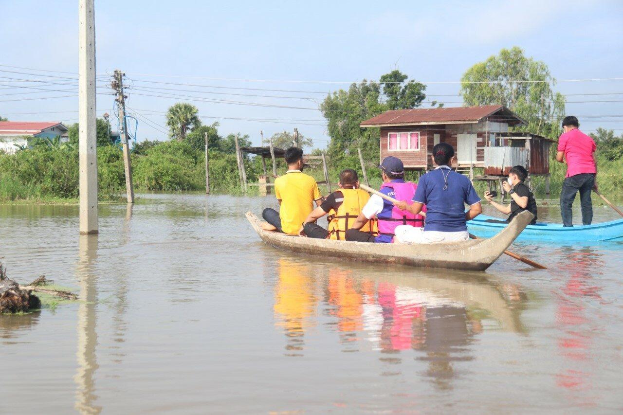 แม่น้ำยมยังท่วม 10 อำเภอ 33 ตำบล 186 หมู่บ้าน ประชาชนรับผลกระทบ 688 ครัวเรือน