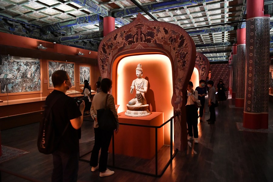 พิพิธภัณฑ์พระราชวังจัดนิทรรศการ 'วัฒนธรรมตุนหวง'