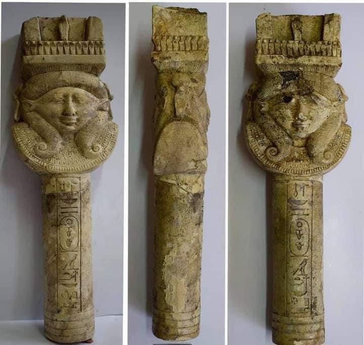 อียิปต์พบเครื่องมือทำพิธีบูชา 'เทพีฮาเธอร์' ยุคฟาโรห์