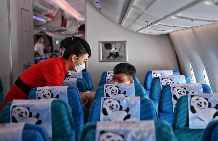 จีนย้ำฆ่าเชื้อโรคเครื่องบิน สกัดโควิด-19 จากต่างแดน