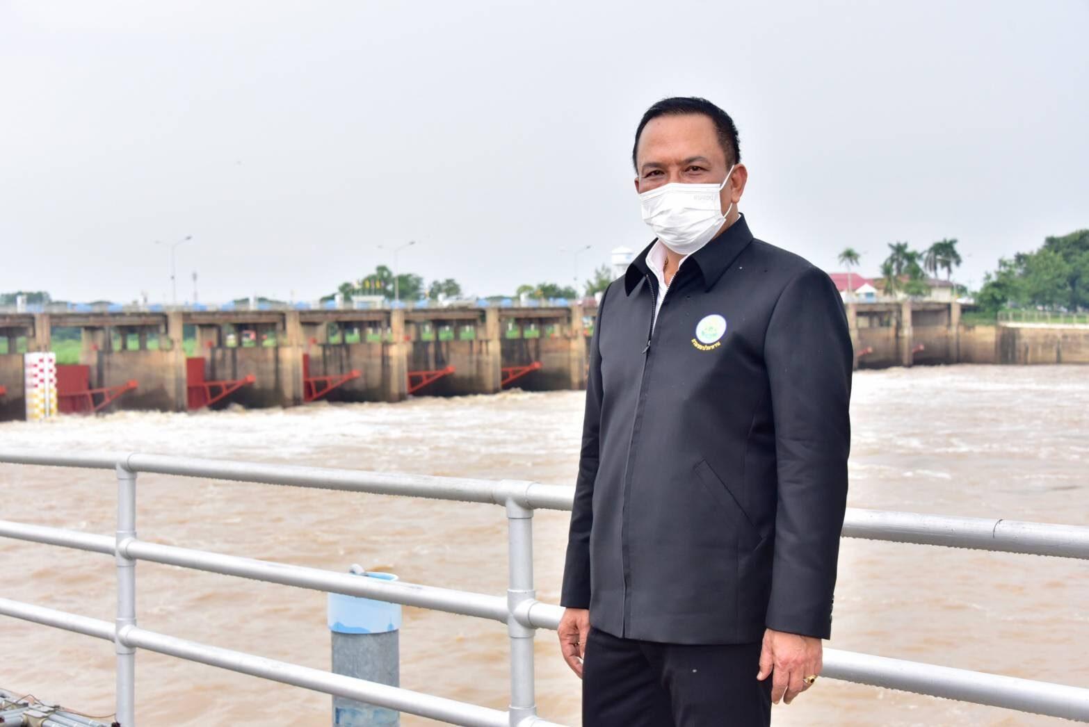 ชป. งัดแผนรับน้ำเข้าระบบชลประทาน 2 ฝั่งแม่น้ำเจ้าพระยา ลดผลกระทบพื้นที่ลุ่มต่ำตอนล่าง
