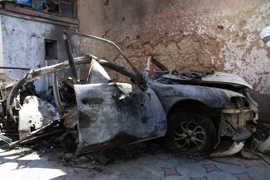 ส่องซากที่เกิดเหตุโดรนสหรัฐฯ โจมตีพลาดในคาบูล