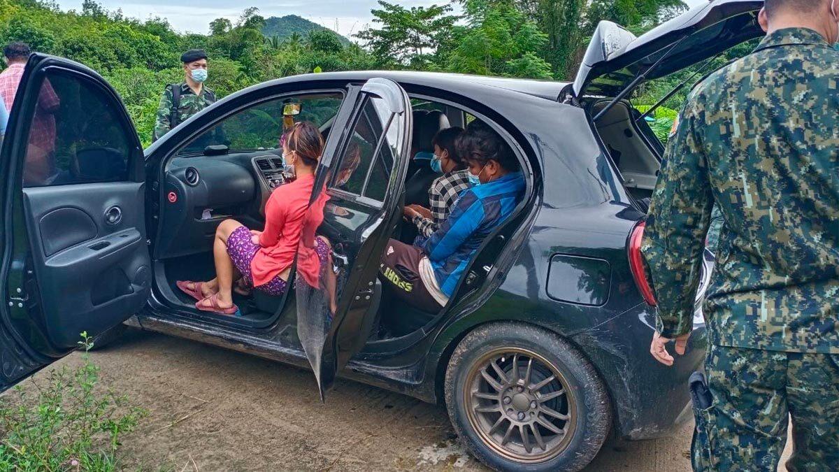 ทหาร-ฝ่ายปกครอง จับขบวนการแรงงานพม่า หนีเข้าไทย 47 คน สารภาพเสียคนละเป็นหมื่น