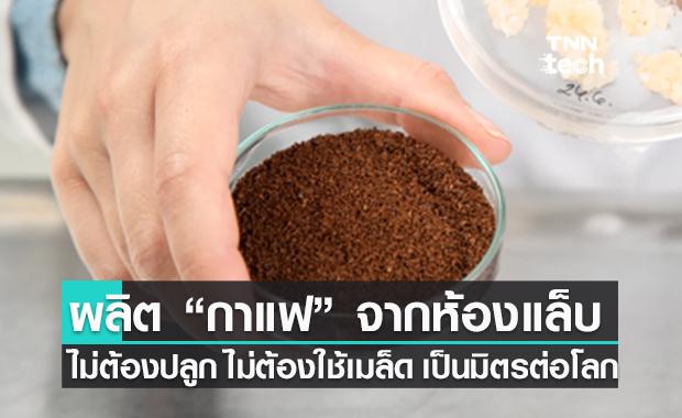 ผลิตกาแฟในห้องแล็บ ไม่ต้องปลูก ไม่ต้องใช้เมล็ด - เป็นมิตรต่อสิ่งแวดล้อม