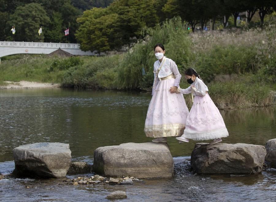 'เกาหลีใต้' ป่วยโควิด-19 รายวันทุบสถิติ หลังเข้าสู่เทศกาลชูซอก