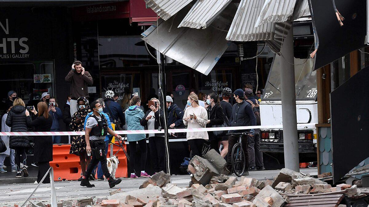 แผ่นดินไหวขนาด 5.8 เขย่าออสเตรเลีย เมลเบิร์นแตกตื่น สิ่งปลูกสร้างเสียหาย