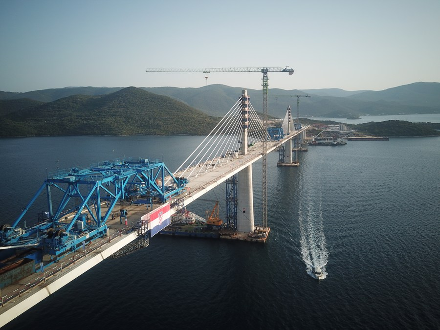 โครเอเชียชี้ 'สะพานเพลเยซัก' ฝีมือจีน สัญลักษณ์มิตรภาพสองประเทศ