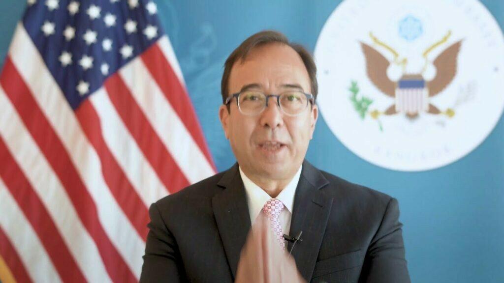 อุปทูตสหรัฐยัน ทำงานกับไทยใกล้ชิดเรื่องเอกสารวัคซีนล้านโดส หวังส่งมอบโดยเร็ว