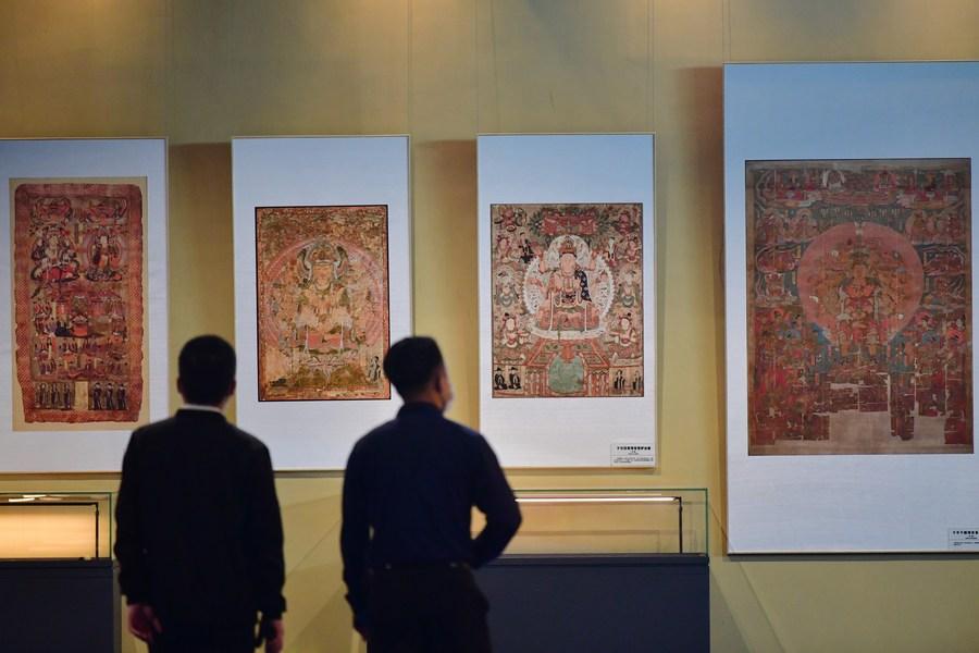 กานซู่จัดนิทรรศการจำลอง 'โบราณวัตถุตุนหวง' ในต่างประเทศ