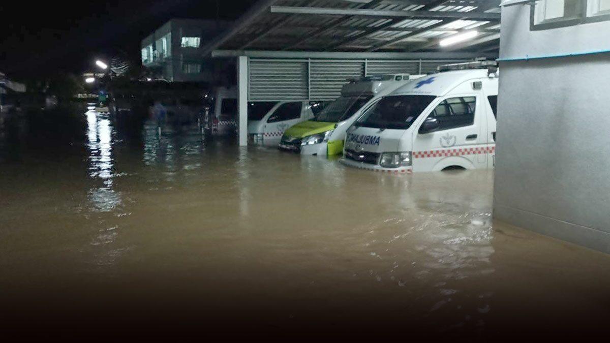 ชัยภูมิ ประกาศเขตภัยพิบัติน้ำท่วมหนักแล้ว 8 อำเภอ เผย 1 พันครอบครัววิกฤต