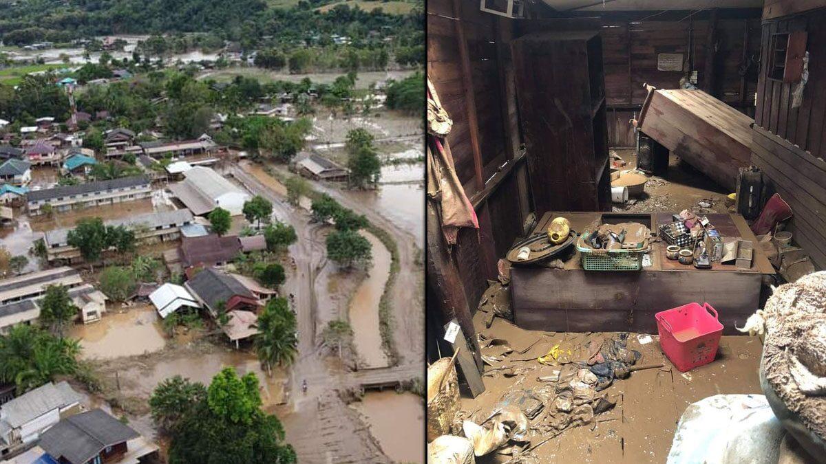 อุ้มผางวิกฤตซ้ำ2 ดินถล่มปิดเส้นทางเข้าช่วย ชาวบ้านแคลนอาหาร-น้ำดื่ม