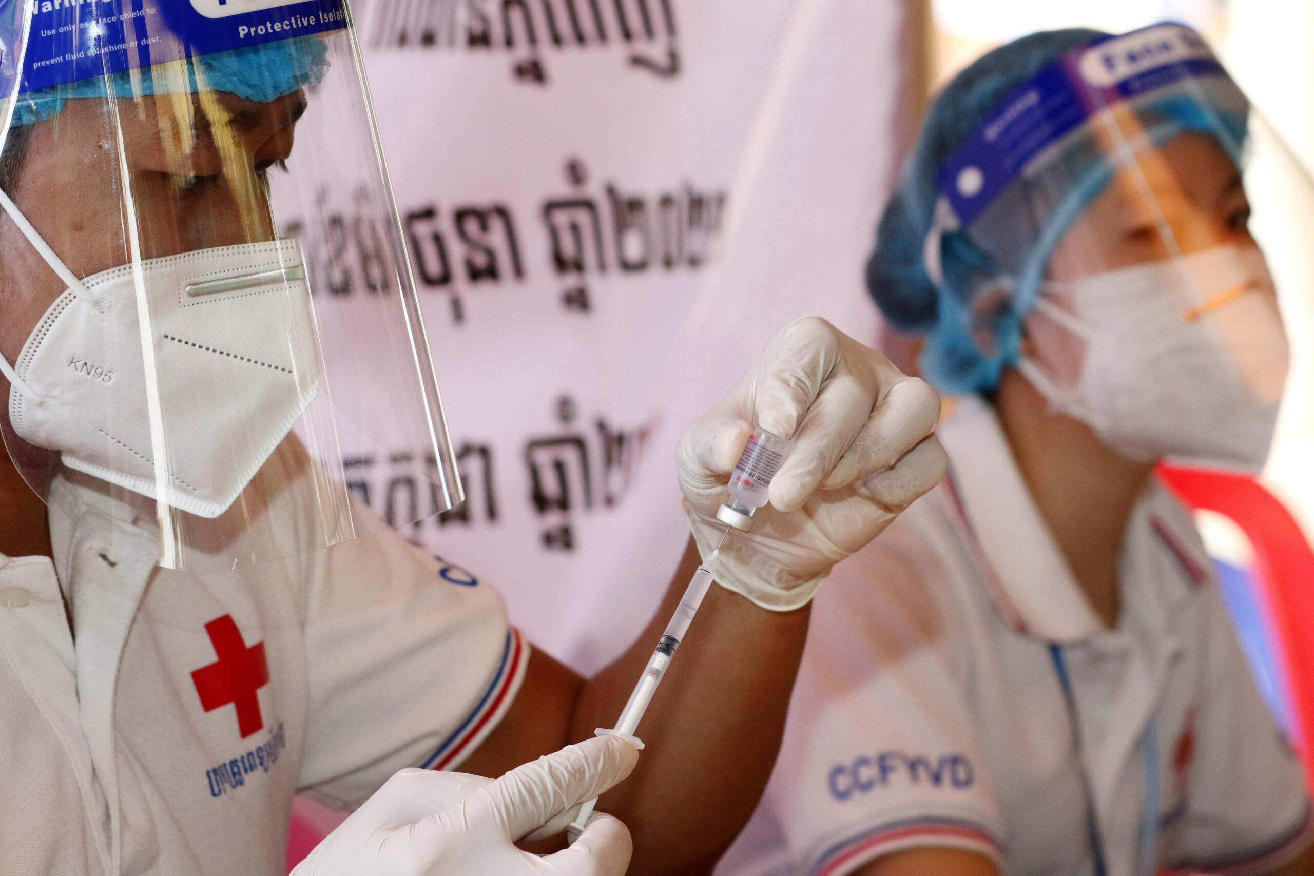 กัมพูชาไฟเขียวเปิดมหา'ลัย หลังคนส่วนใหญ่ฉีด 'วัคซีนโควิด-19'