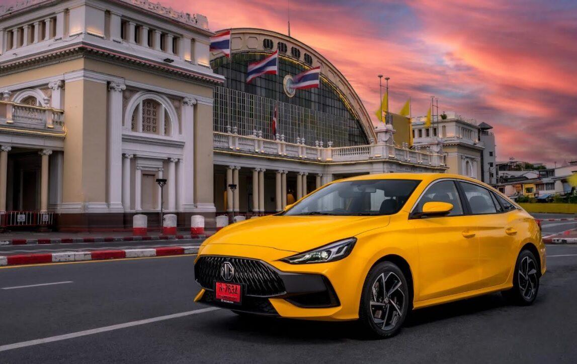 """""""เอ็มจี"""" ตีปี๊บ ยอดขาย 3 ไตรมาสโต 14% ล่าสุดพุ่งขึ้นอันดับ 5 ของตลาดรถในประเทศ"""