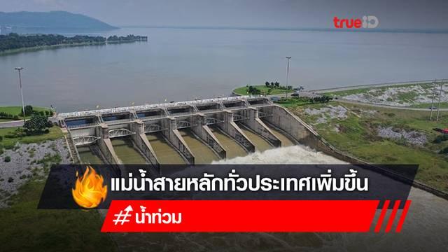 กอนช. สรุปสถานการณ์น้ำภาพรวมของประเทศ เฝ้าระวังน้ำมาก 17 แห่ง!