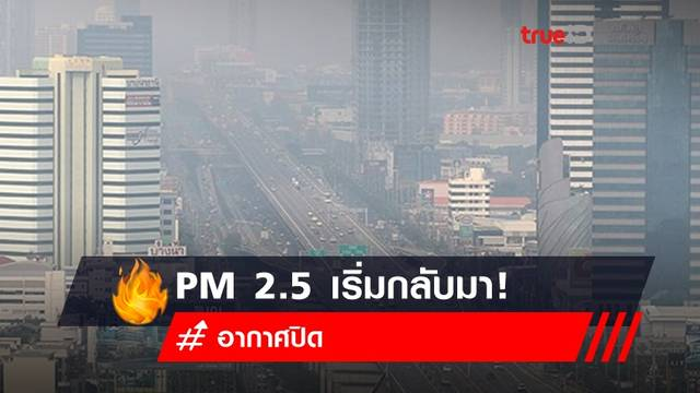 อากาศปิด PM 2.5 เริ่มกลับมา! ผลกระทบสุขภาพที่ไม่เล็กตามขนาด