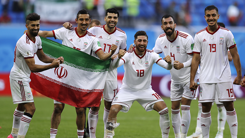 Iran's players