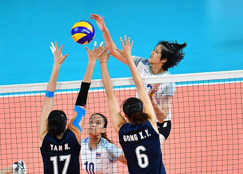 ปลื้มจิตร์ วอลเลย์บอลหญิงทีมชาติไทย