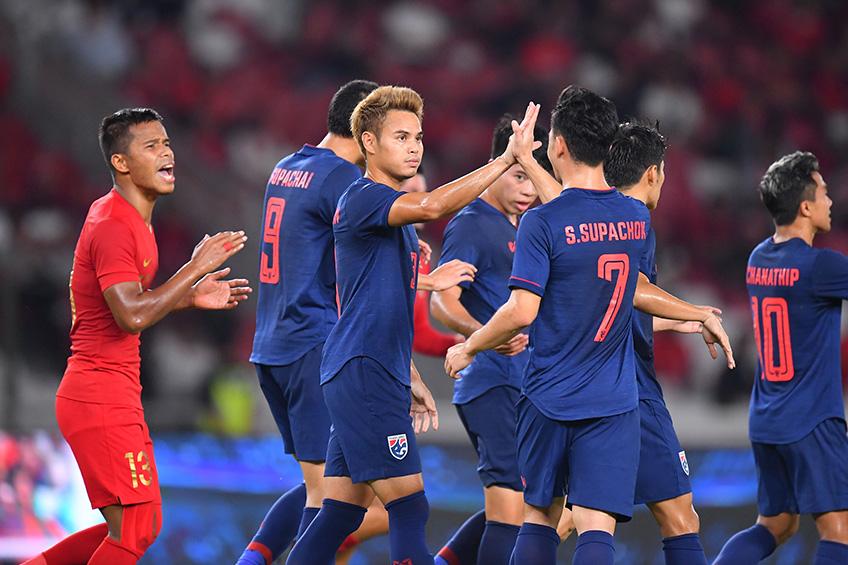ทีมชาติไทย-อินโดนีเซีย