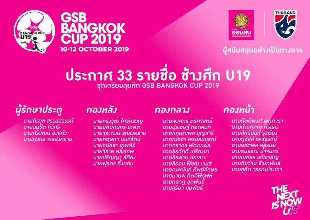 ทีมชาติไทยยู19