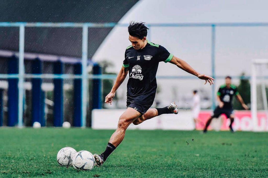 ลีซอ, ธีรเทพ วิโนทัย, ฟุตบอล, ไทยลีก, ชลบุรี เอฟซี, แบงค็อก ยูไนเต็ด, ทีมชาติไทย