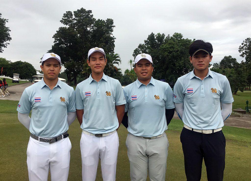 ซีเกมส์ 2019, กอล์ฟ, ทีมชาติไทย, ทรูเชียร์ไทย, ทรูไอดี