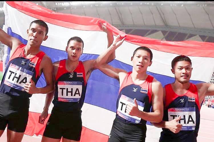 ซีเกมส์ 2019, กรีฑา, ทีมชาติไทย, มิ้ว, จิระพงศ์ มีนาพระ, ทรูเชียร์ไทย, ทรูไอดี