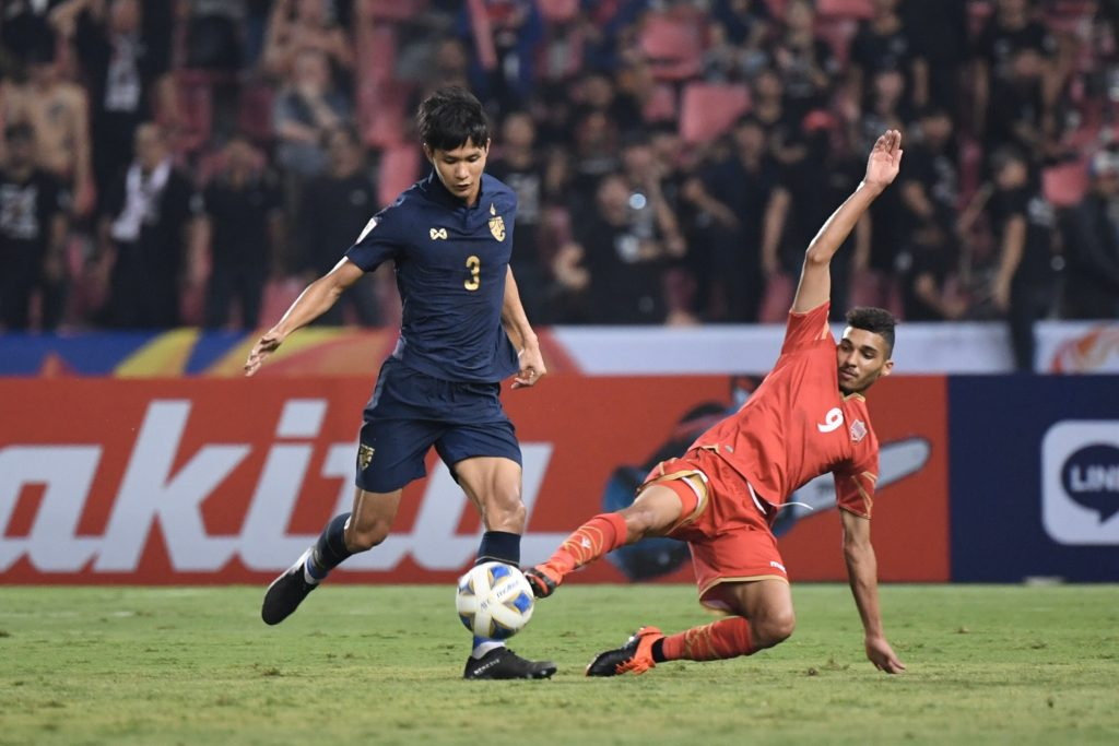 ทีมชาติไทย พบ บาห์เรน
