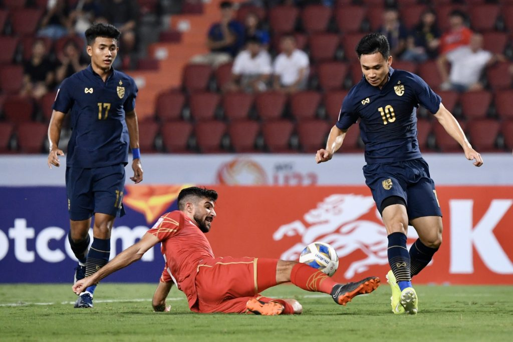 สุภโชค สารชาติ ทีมชาติไทย บาห์เรน