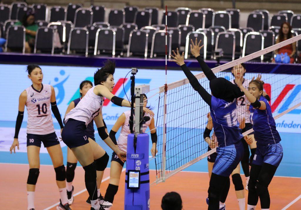 วอลเลย์บอลหญิง, ทีมชาติไทย, เกาหลีใต้, รอบชิงชนะเลิศ, โตเกียว 2020, นครราชสีมา, ชาติชายฮอลล์, ทรูเชียร์ไทย