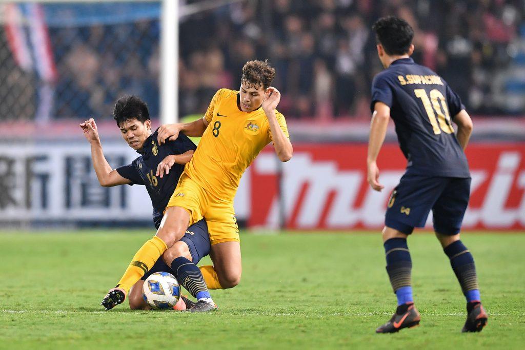 ทีมชาติไทย ออสเตรเลีย