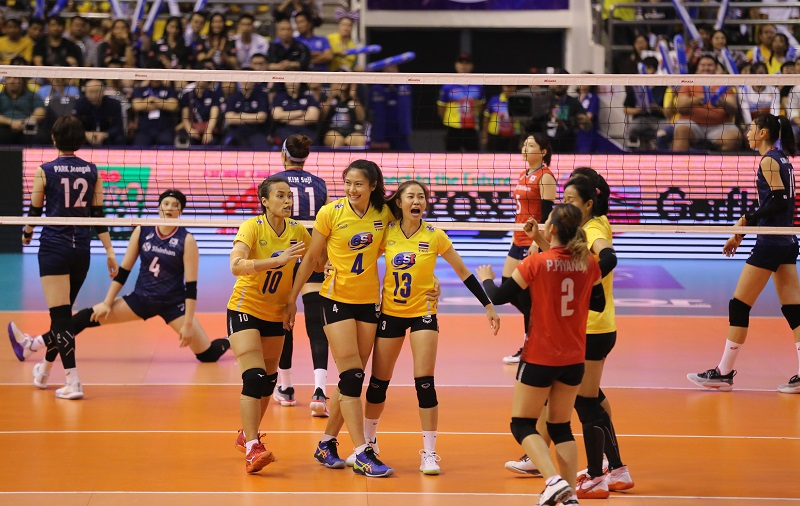 วอลเลย์บอลหญิง, ทีมชาติไทย, เกาหลีใต้, รอบคัดเลือก, โตเกียว 2020, นครราชสีมา, ชาติชายฮอลล์