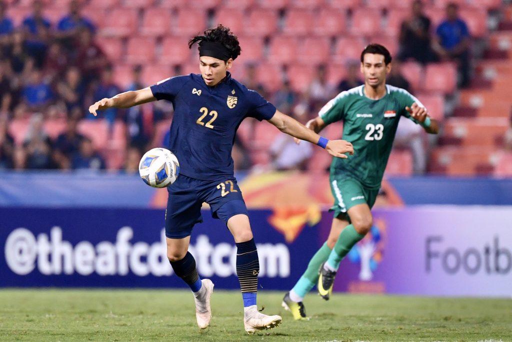 เบนจามิน เดวิส ทีมชาติไทย พบ ทีมชาติอิรัก