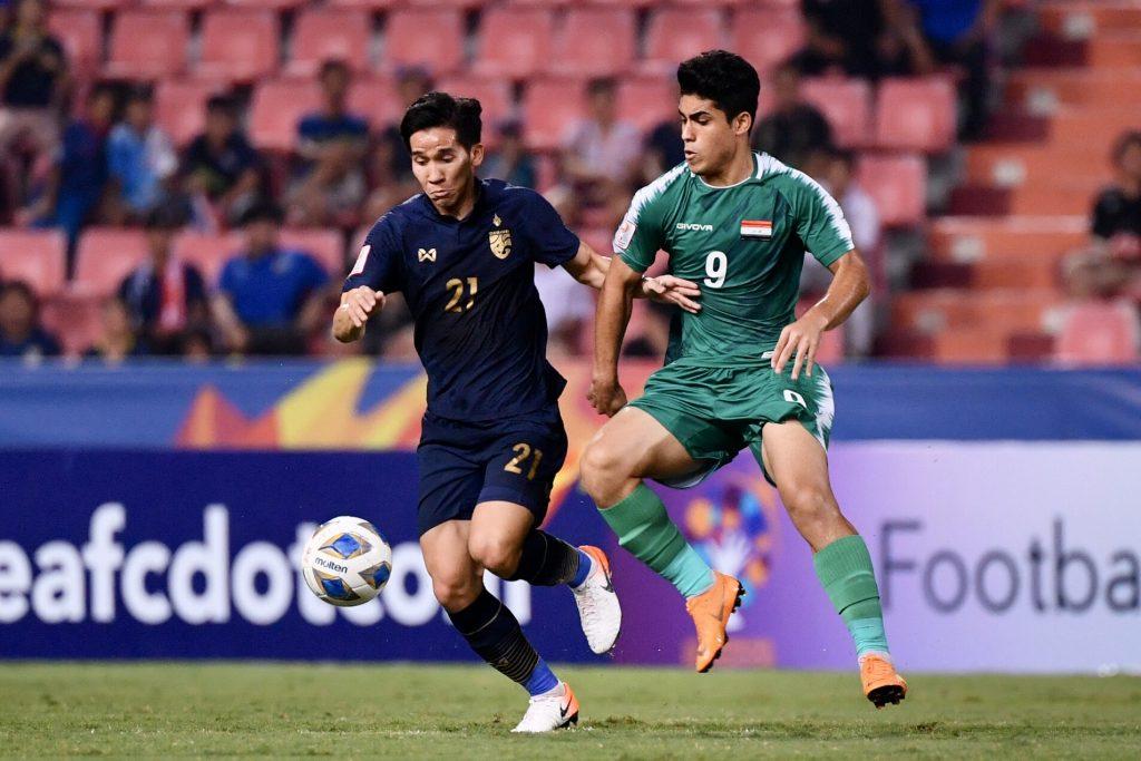 ทีมชาติไทย พบ ทีมชาติอิรัก