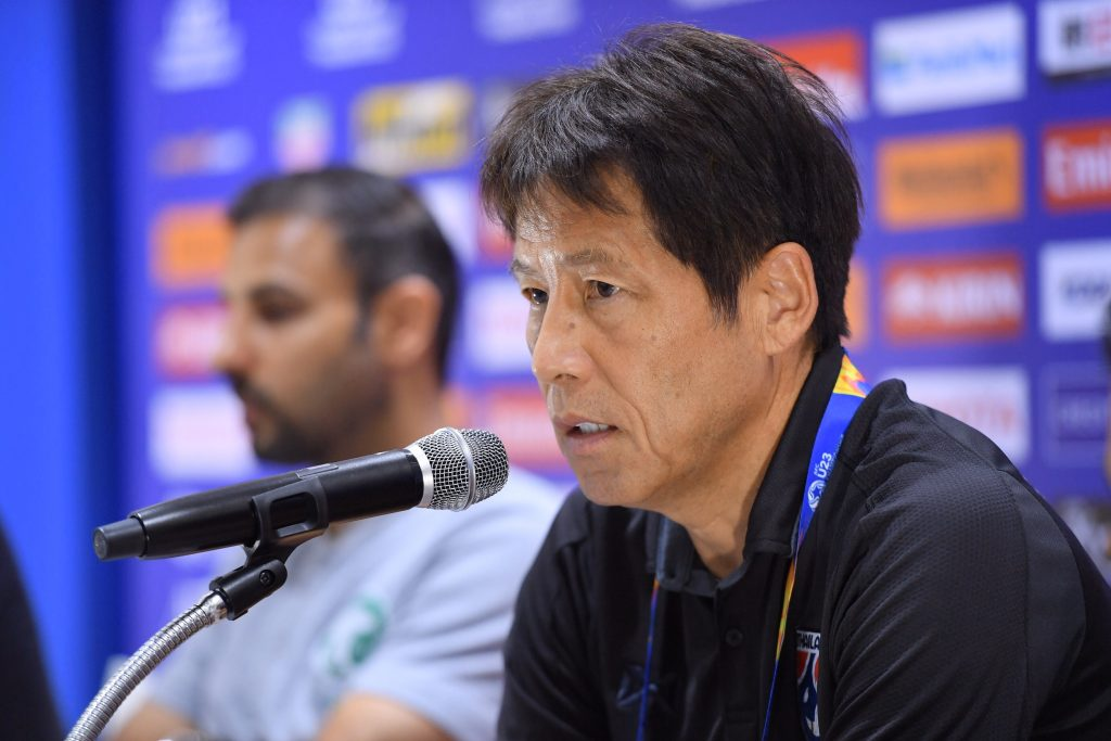 อากิระ นิชิโนะ ทีมชาติไทย