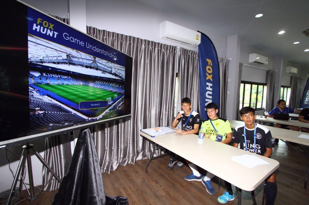 คิง เพาเวอร์, คิง เพาเวอร์ คัพ 2019/20, ฟุตบอล, ฟุตบอลเยาวชน, ฟ็อกฮันท์