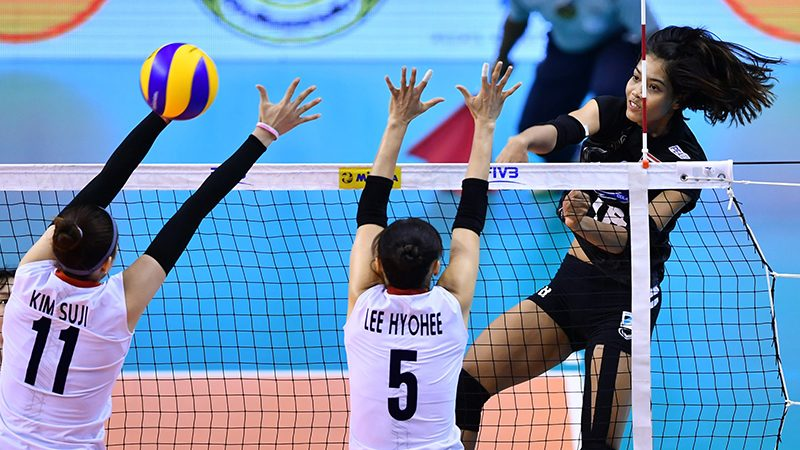 อัจฉราพร คงยศ นักวอลเลย์บอลหญิง ทีมชาติไทย