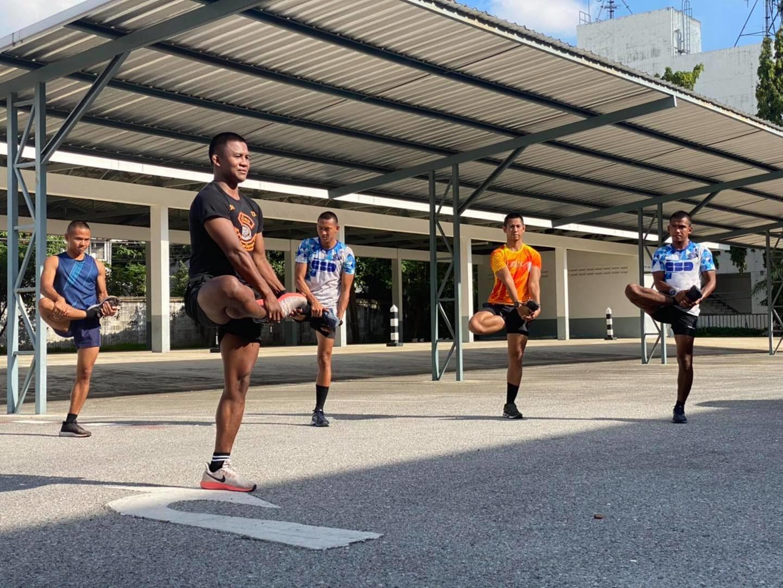 เสริมเขี้ยวเล็บ! 'บัวขาว' สอนทักษะ 'มวยไทย' ให้ตำรวจทีมหนุมาน - กองปราบปรามฯ